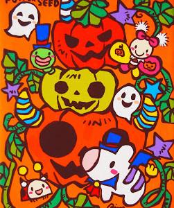 Halloweenライブペイント!